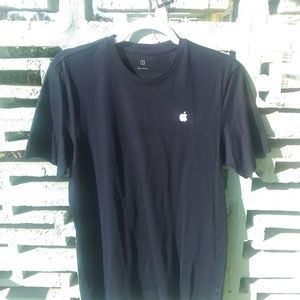 Tops - Apple store employee t shirt navy blue size sm